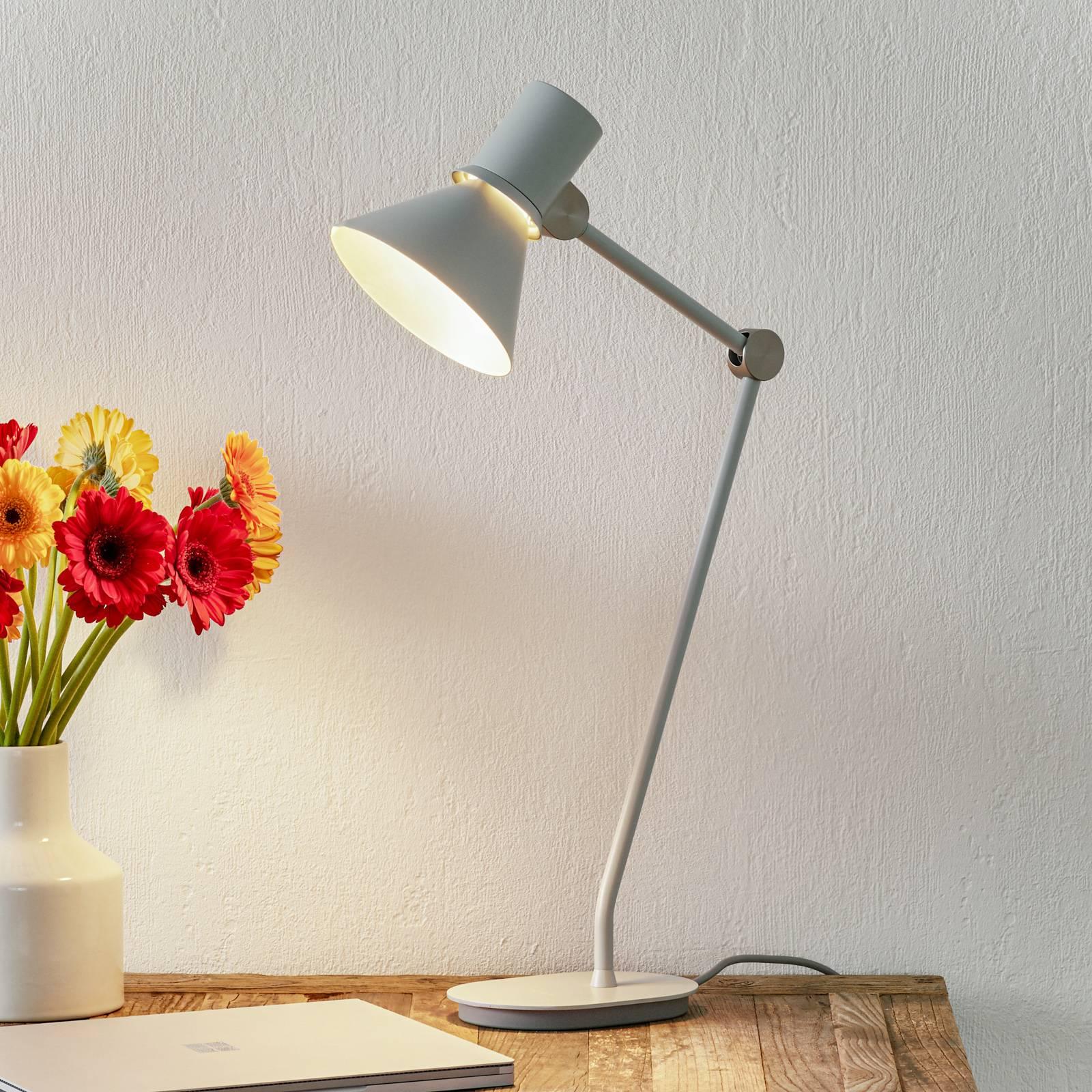 Anglepoise Type 80 -pöytälamppu sumunharmaa