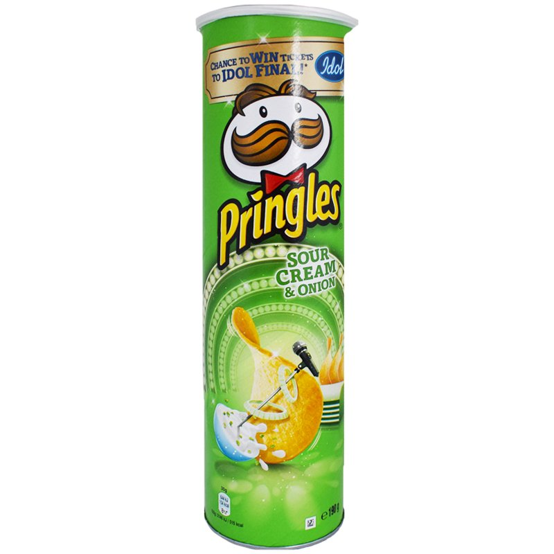 "Snacks ""Sour Cream & Onion"" 190g - 22% rabatt"