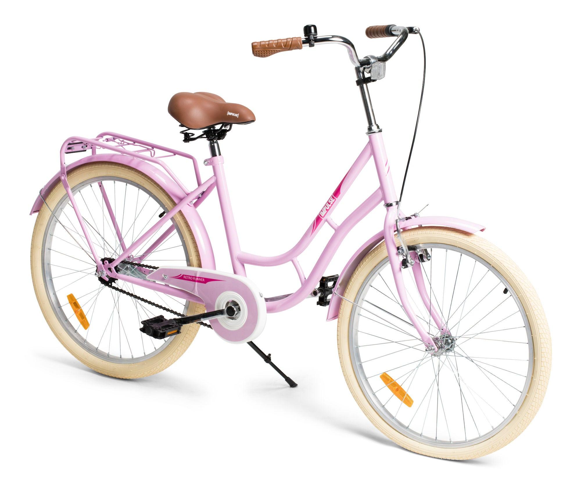 Impulse Retro Runner Juniorcykel 24 tum, Rosa
