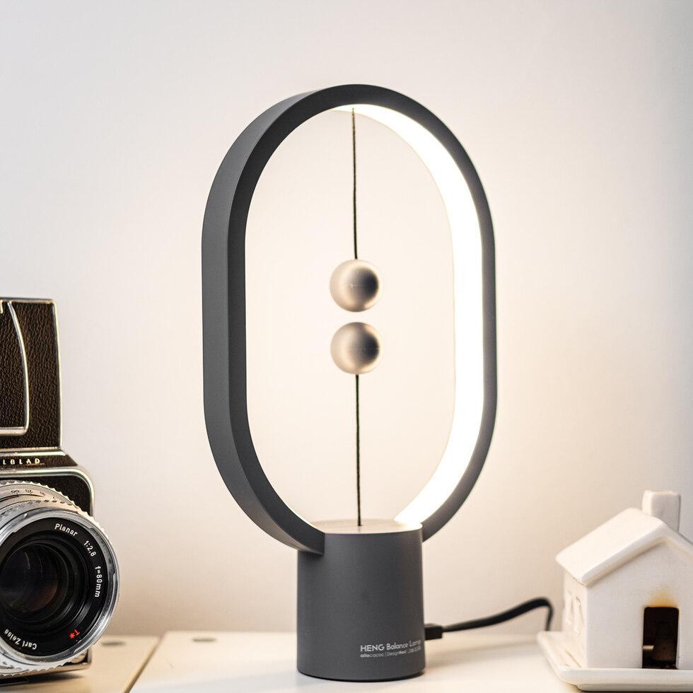 Mini Heng Balance Lamp - Oval - Light Grey (04942.GR)