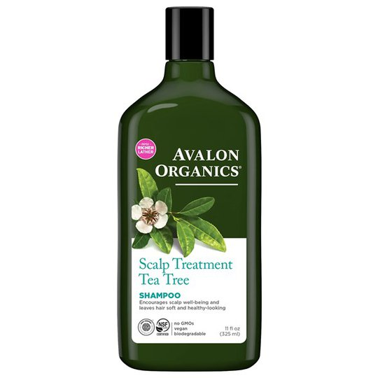 Avalon Organics Scalp Treatment Tea Tree Shampoo, 325 ml