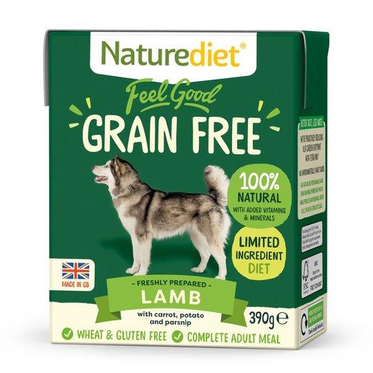 Naturediet Grain Free Lamm (390 g)
