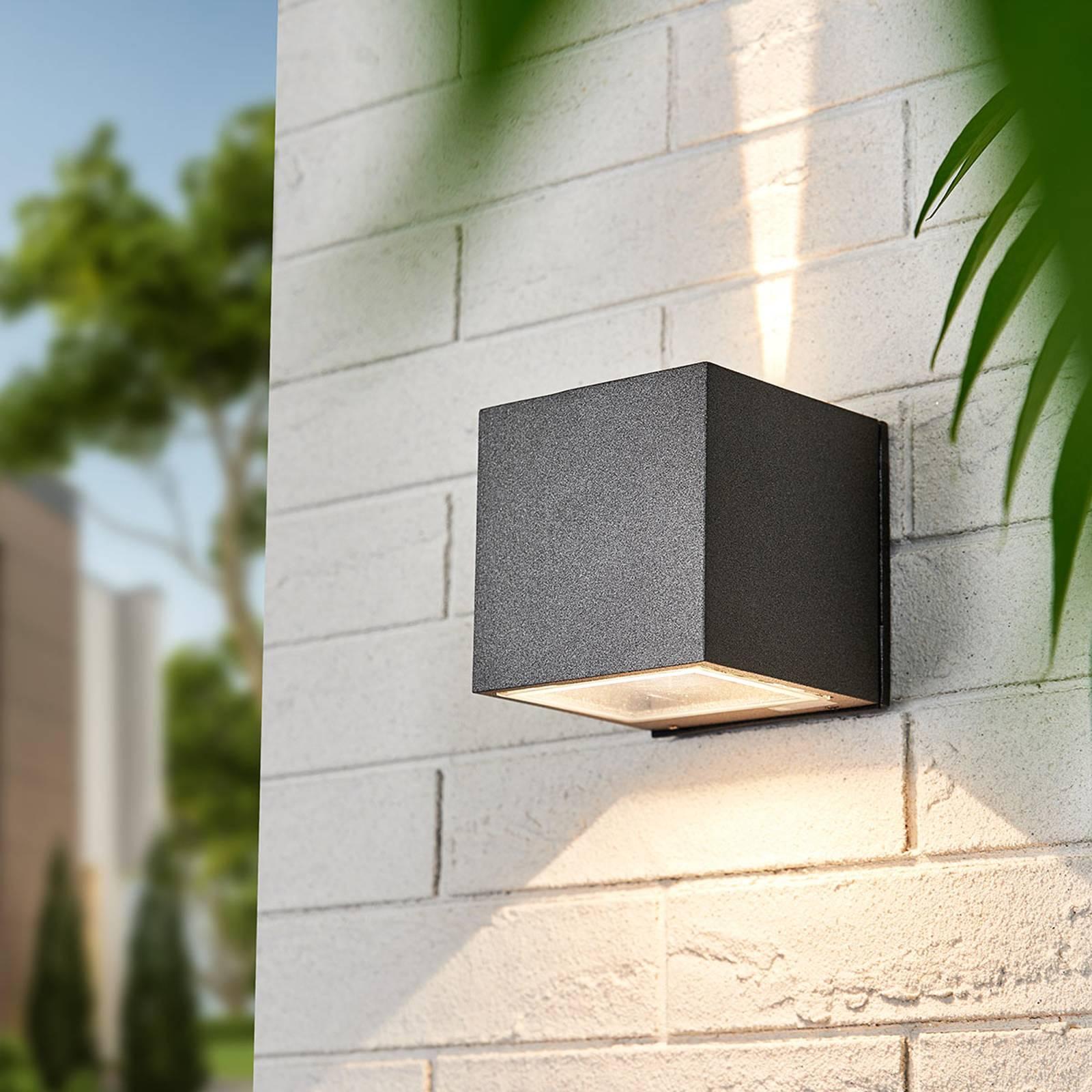 Kulmikas Leron-LED-spotti valaisu kapea-leveä