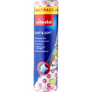Hushållsduk Vileda Soft, 40-pack