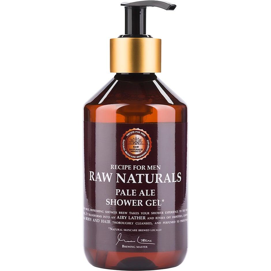 Raw Naturals Pale Ale Shower Gel, 300 ml Raw Naturals by Recipe for Men Suihkugeelit
