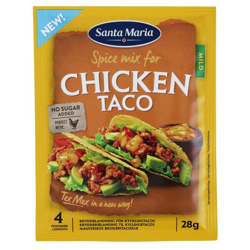 "Mausteseos ""Chicken Taco"" 28g - 21% alennus"