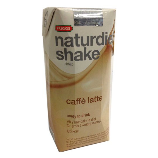 Naturdiet shake caffè latte - 50% rabatt