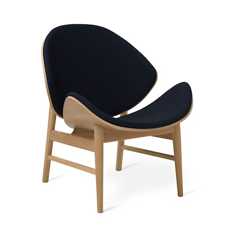 The Orange Lounge Chair Midnight Blue Vitoljad Ek