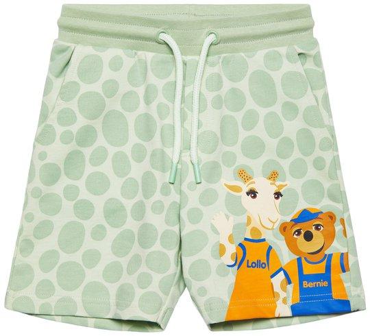 Lollo & Bernie Svettis Shorts, Green Dot, 86-92