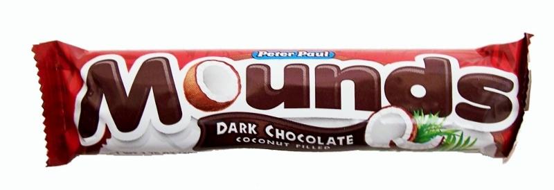 Mounds Dark Chocolate Bar 49g