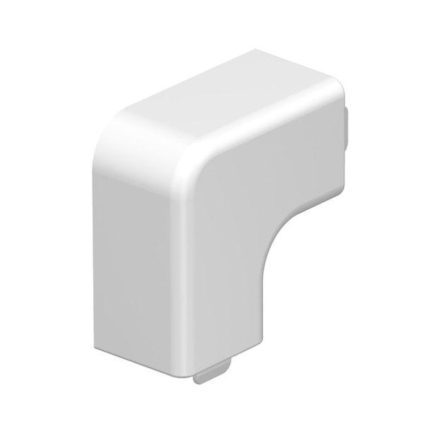 Obo Bettermann 6175658 L-vinkel halogenfri, polarhvit 20 x 15 mm, 4-pakning