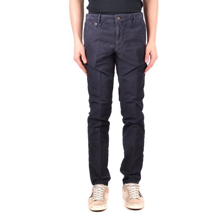 Incotex Men's Trouser Blue 163122 - blue 33