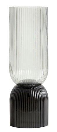 Riva Vase/Lyslykt Tall Svart