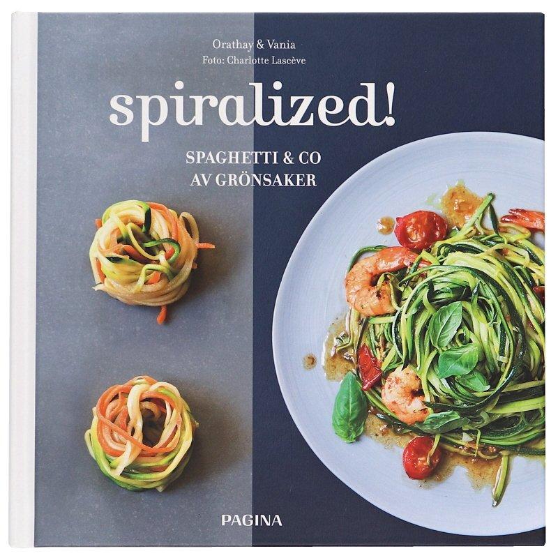 """Bok """"Spiralized! - spaghetti & co av grönsaker"""" - 53% rabatt"""