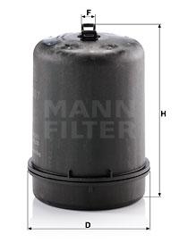 Öljynsuodatin MANN-FILTER ZR 9007
