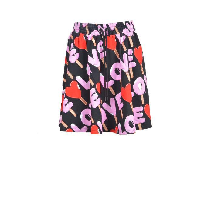 Love Moschino Women's Skirt Black 212293 - black 38