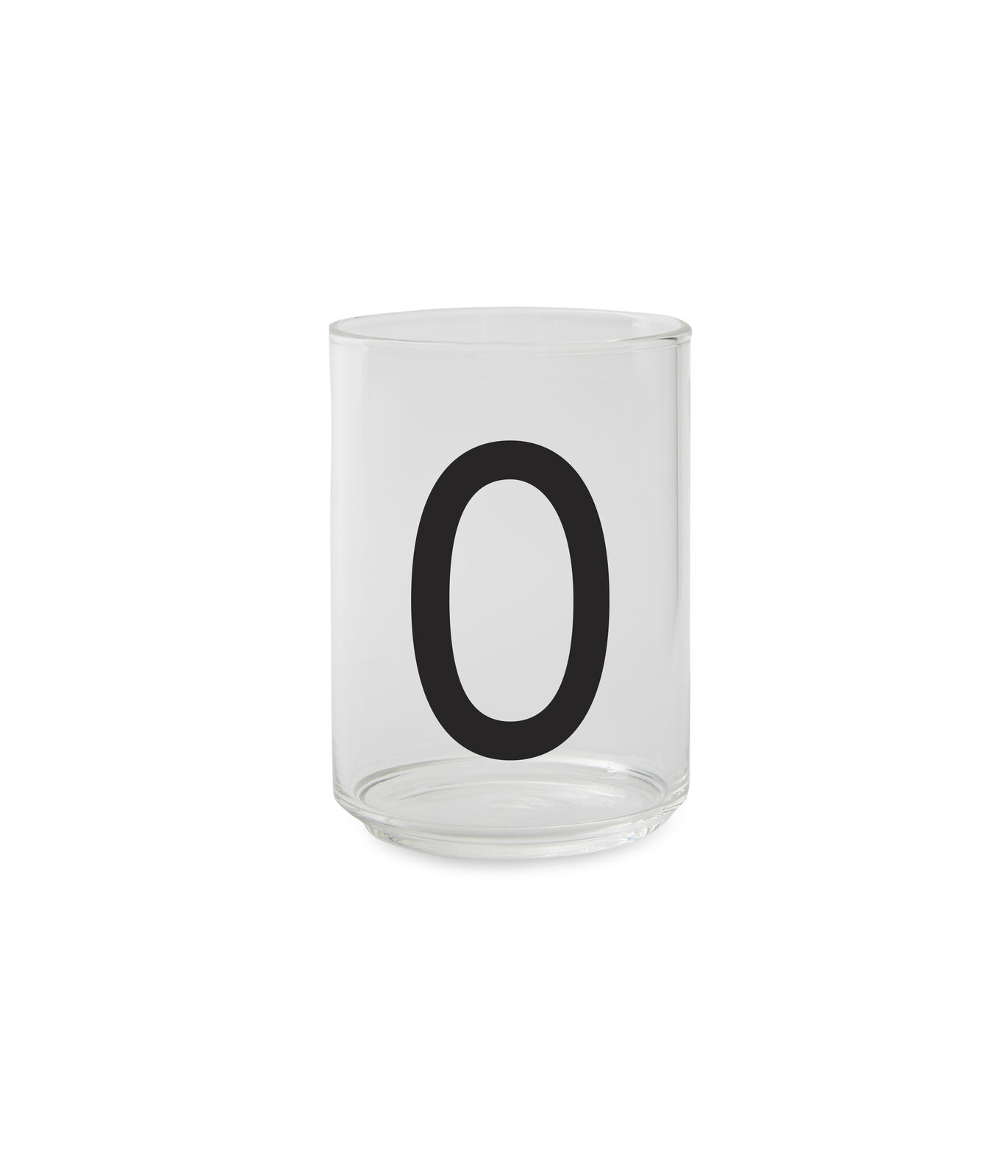 Design Letters - Personal Drinking Glass O