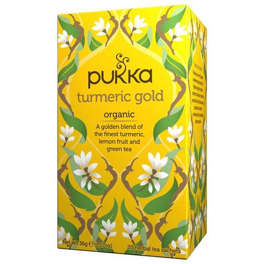 Pukka Herbs Örtte Turmeric Gold, 20 påsar