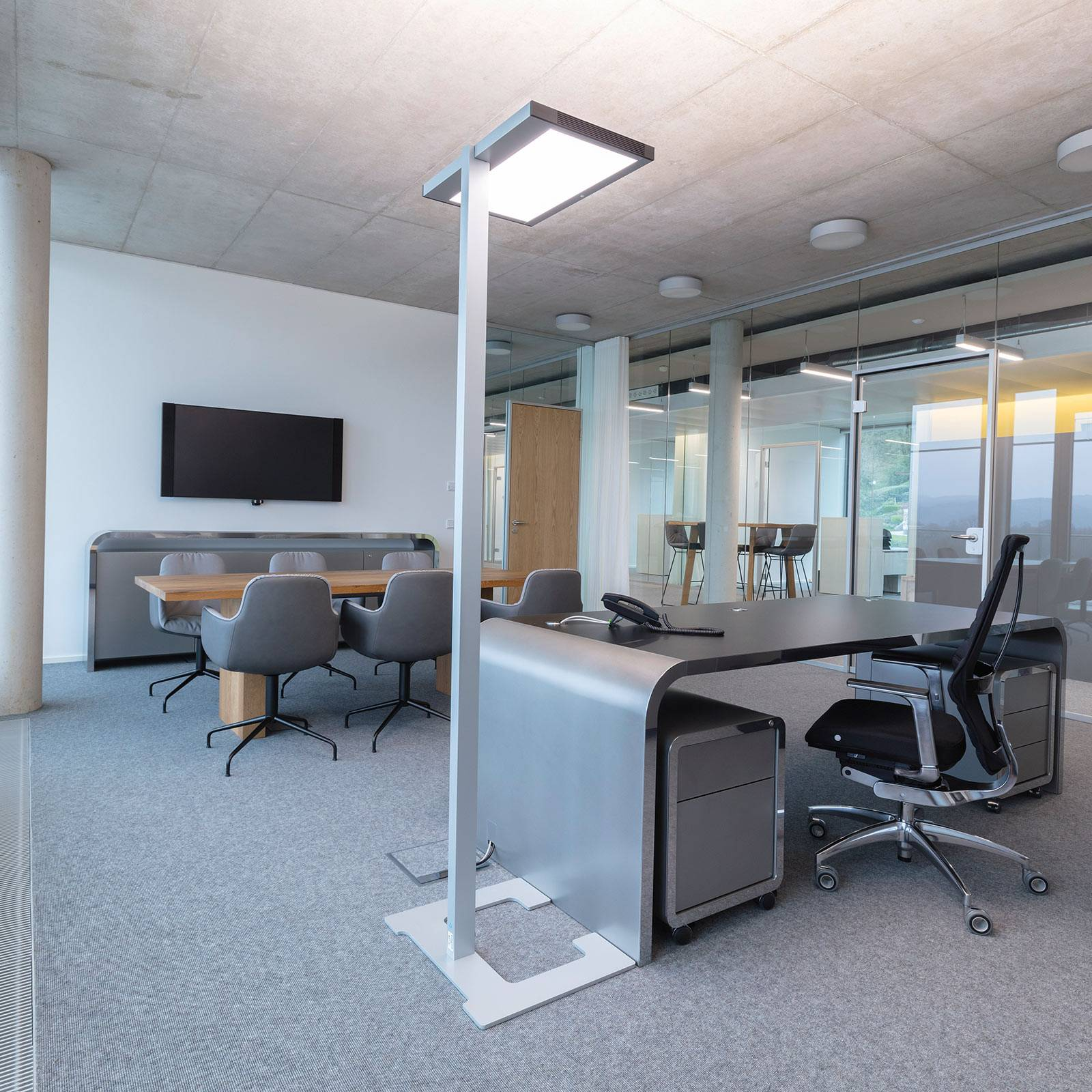 Luctra Vitawork LED-toimistolattiavalo 17000 lm