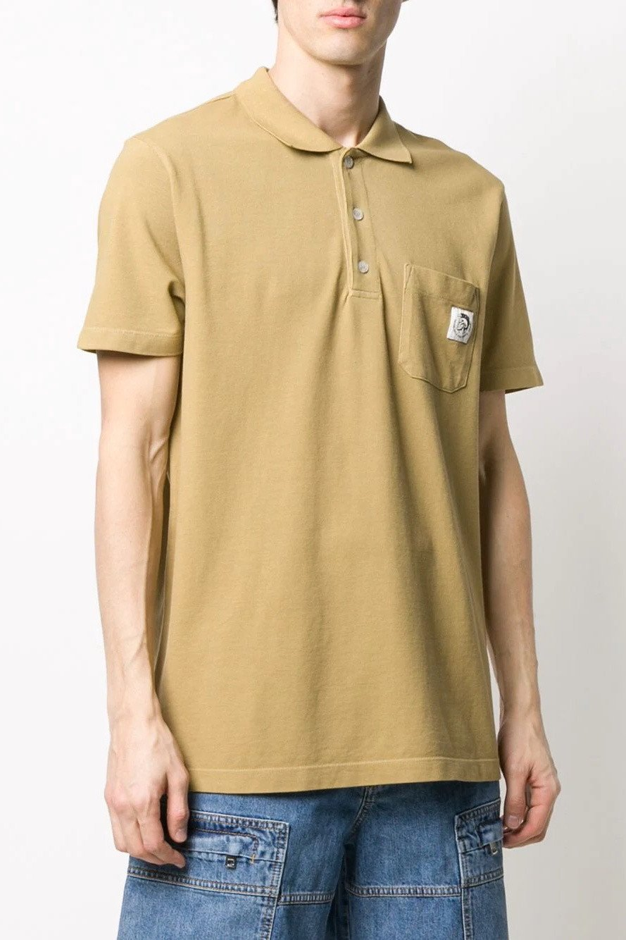 Diesel Men's Polo Shirt Various Colours 283866 - beige-2 M