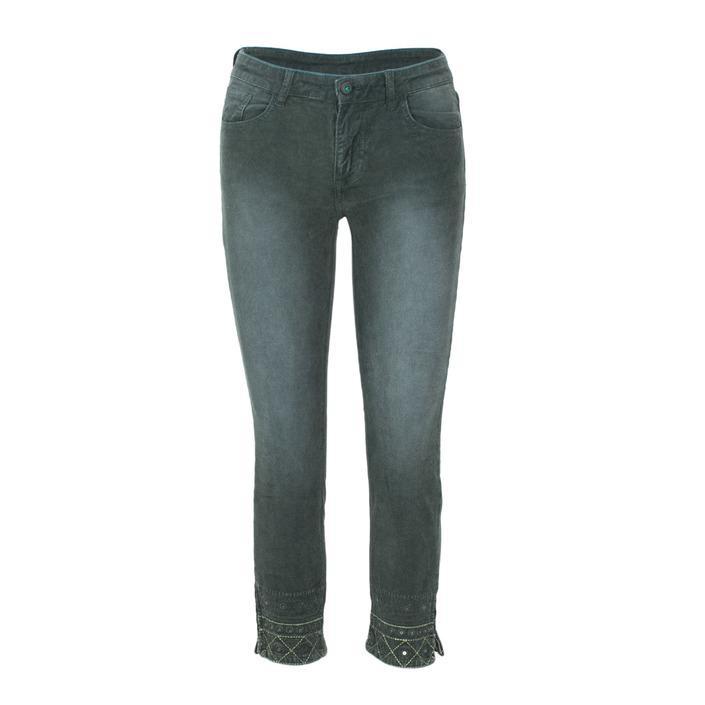 Desigual Women's Trouser Green 165177 - green 38