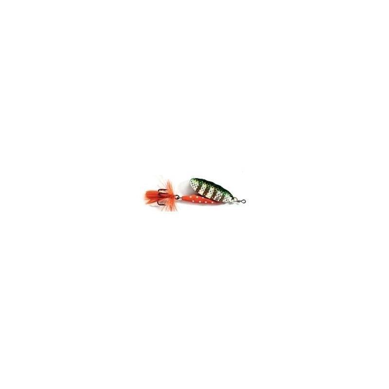Abu Reflex Red 18g G/Green Kjøp 8 spinnere få en gratis slukboks