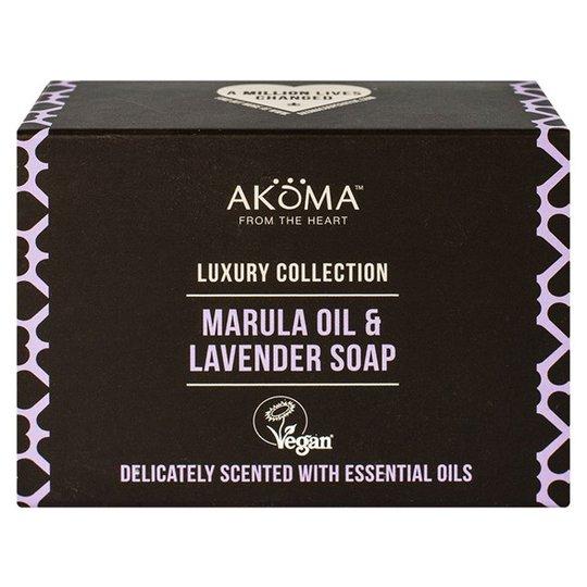 Akoma Marula Oil & Lavender Soap, 105 g