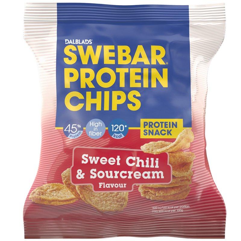 Proteiinisipsit Sweet Chili & Sourcream - 65% alennus