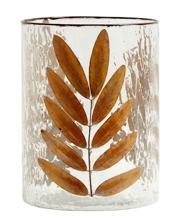 Leaves Vas/Ljuslykta Glas Large