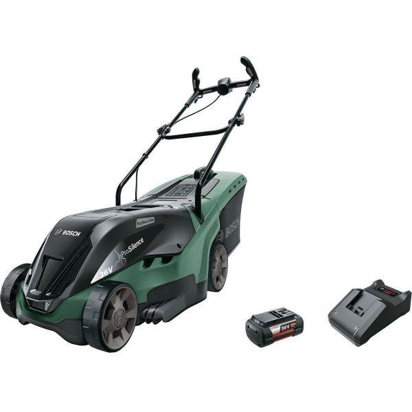 Bosch DIY Universal Rotak 36-670 Gressklipper med 6,0Ah batteri og lader