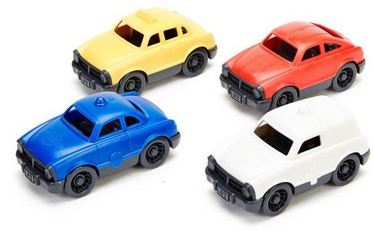 Green Toys Småbiler, 4-pack