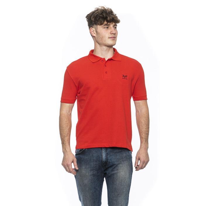 19v69 Italia Men's Polo Shirt Red 185375 - red M