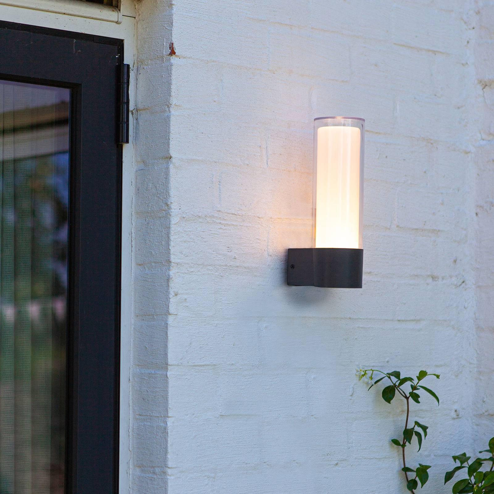 LED-ulkoseinälamppu Dropa, RGBW, älykäs ohjaus