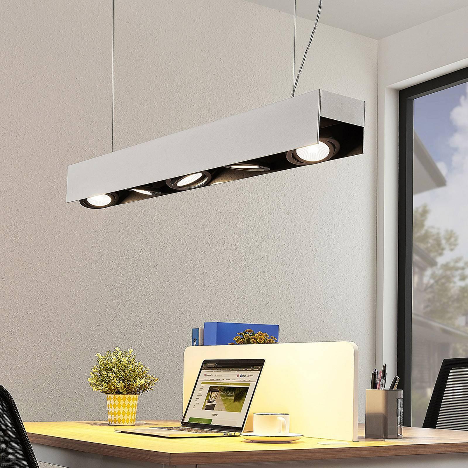 Arcchio Olinka LED-riippuvalaisin, 5-lamppuinen