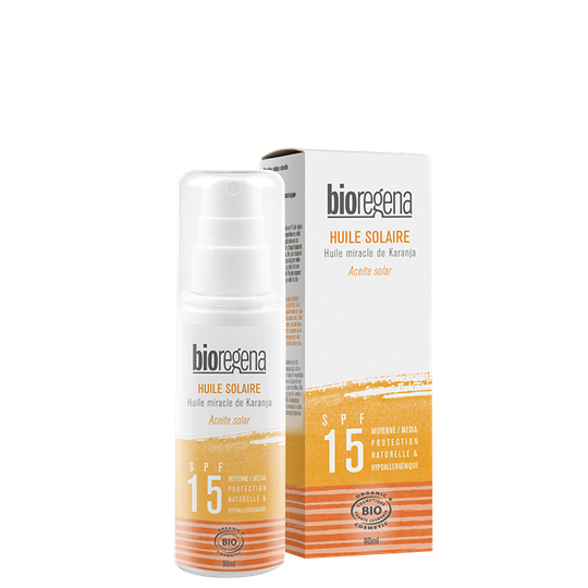 Sunscreen Oil SPF 15, 90 ml