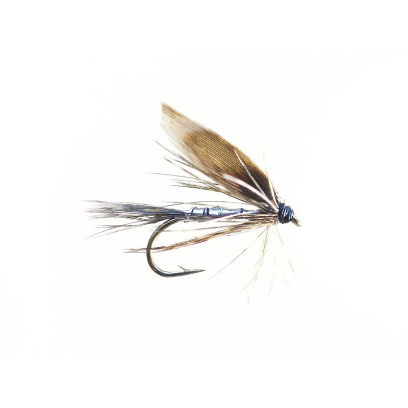 March Brown Silver #12 - Enkelkrok Kjøp 12 fluer få gratis flueboks