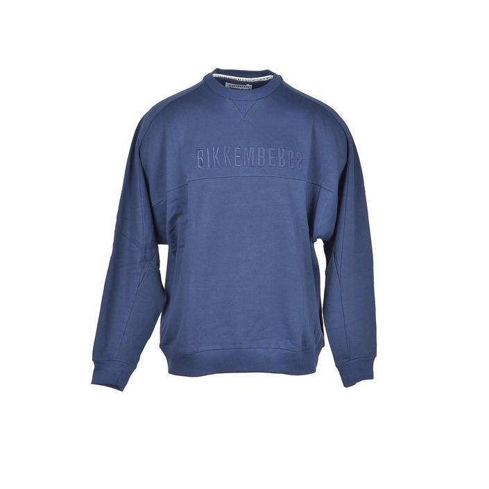 Bikkembergs Men's Sweater Blue 301737 - blue M