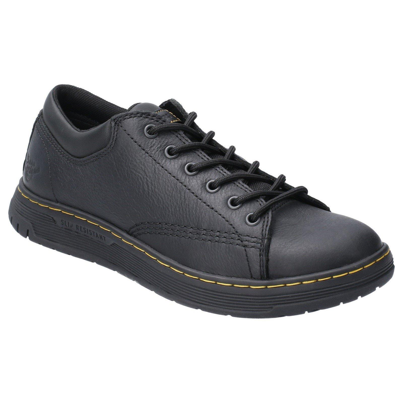 Dr Martens Unisex Maltby SR Lace Trainer Black 29510 - Black 12