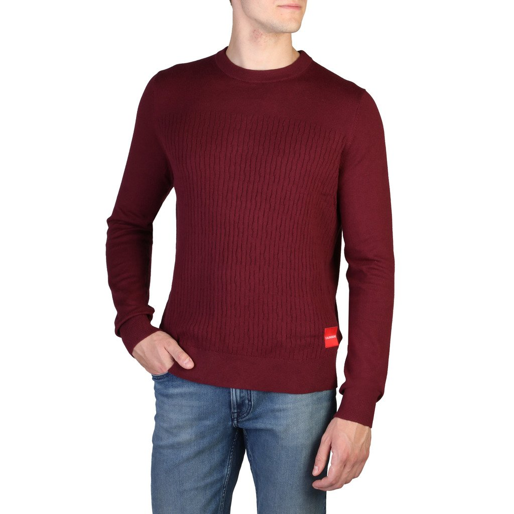 Calvin Klein Men's Sweater Red J30J309543 - red S
