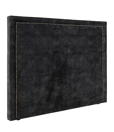 PARIS LOW 180x140 Headboard velvet dark grey