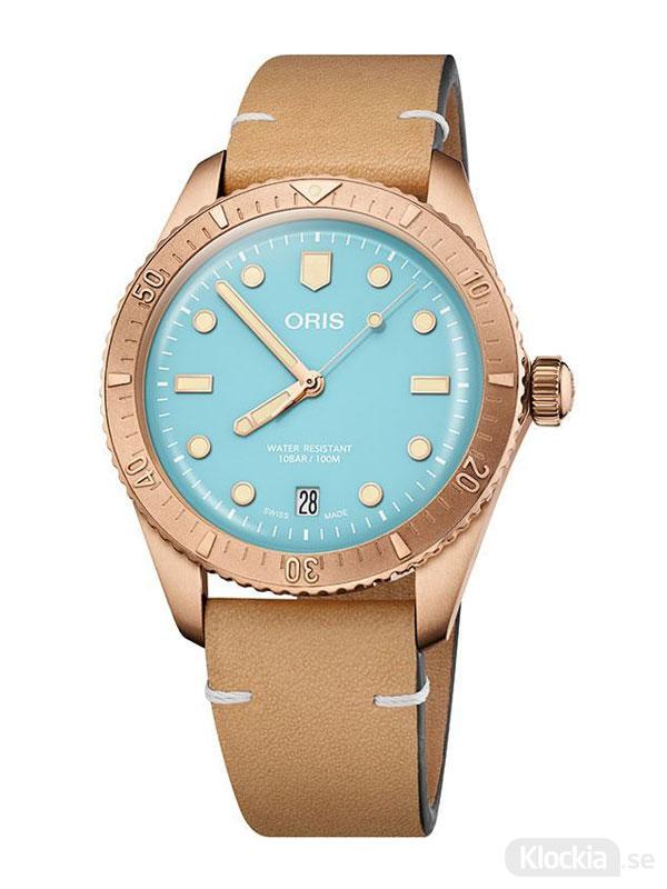ORIS Divers Sixty-Five 38mm - Cotton Candy 733-7771-3155-07-5-19-04BR