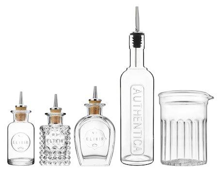Mixology flasker og mixerglass