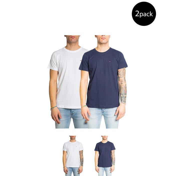 Tommy Hilfiger Jeans Men's T-Shirt Multicolor 213703 - multicolor XS