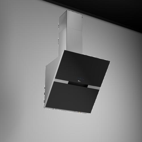 Thermex Preston 2 - 60 Cm Sort For Extern Motor Vägghängd Köksfläkt Svart