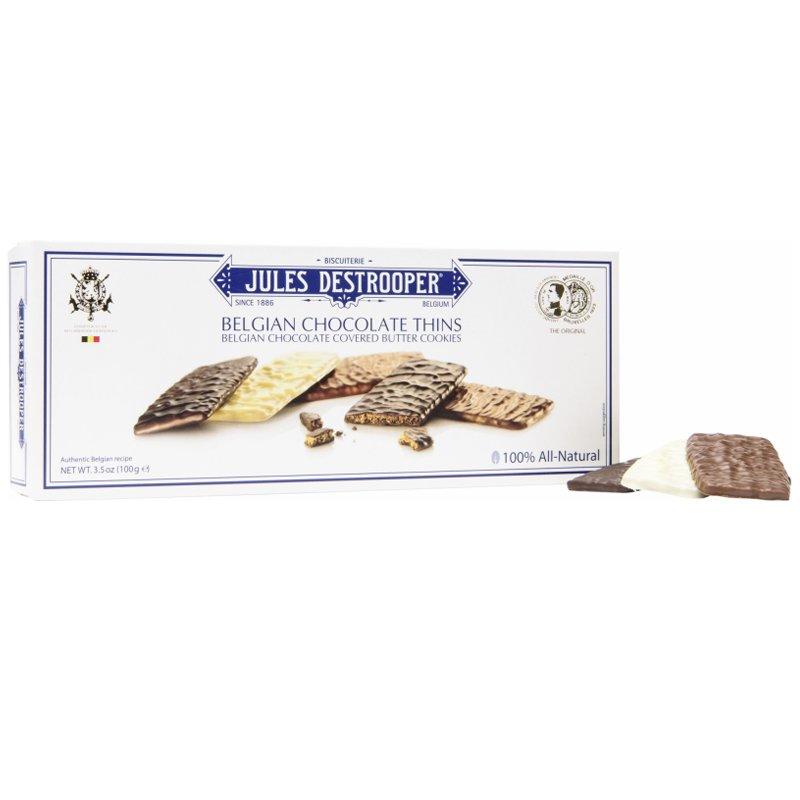 """Belgian Chocolate Thins"" Keksit 100g - 40% alennus"