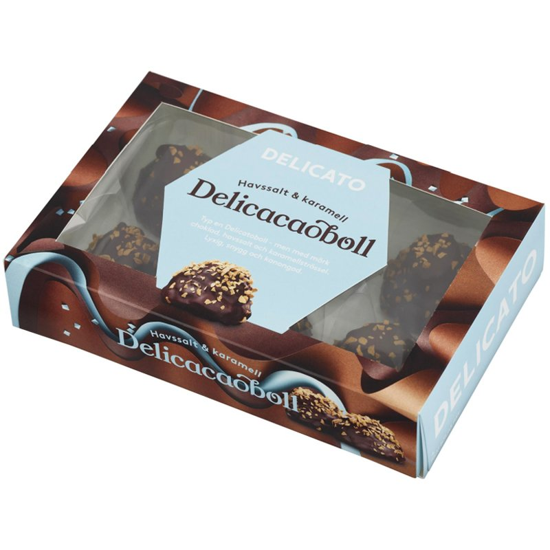 Suklaapallot Merisuola & Karamelli 180g - 60% alennus
