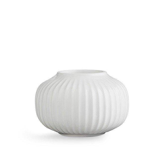 Kähler - Hammershøi Candlestick Medium - White (692352)