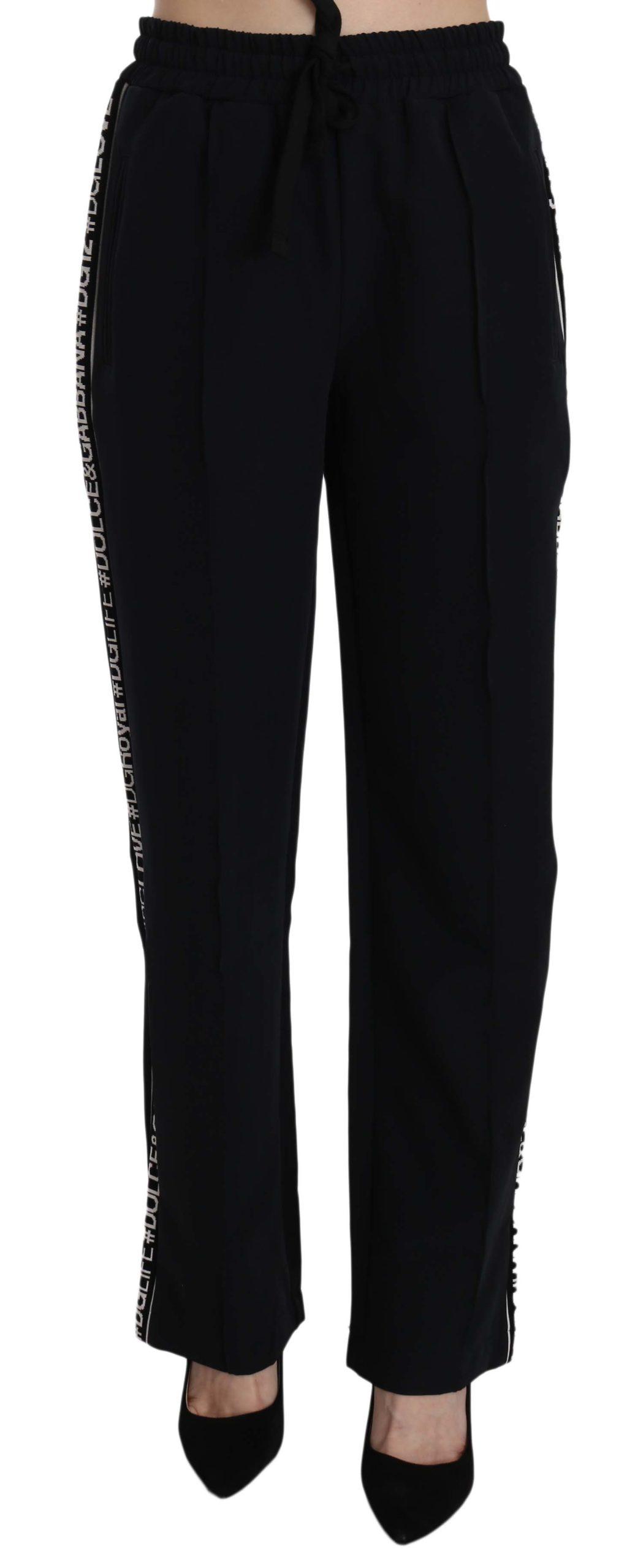 Dolce & Gabbana Women's Trouser Black PAN70264 - IT42|M