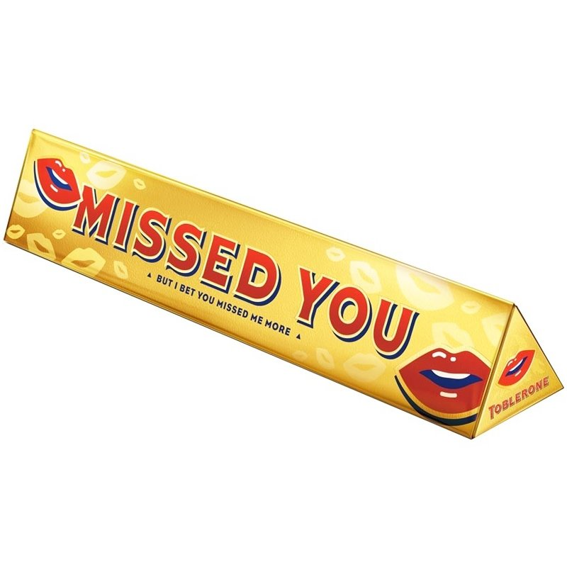 Toblerone Missed You - 49% rabatt