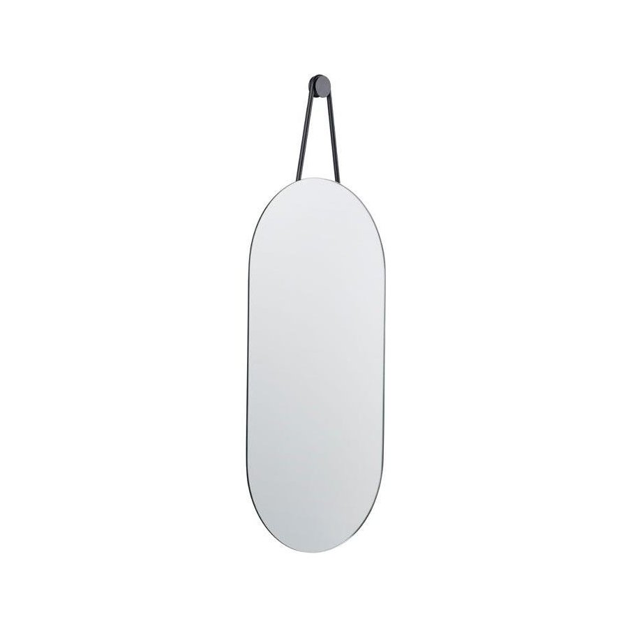 Zone - A-Wall Mirror - Wall Mirror 60 x 30 cm - Black (332068)